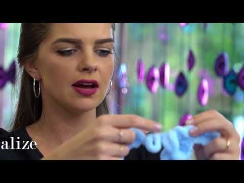 ALİZE PUFFY İLE BURGU BEBEK BATTANİYE ANLATIMI/ MAKING CABLE BABY BLANKET WITH ALİZE PUFFY - YouTube