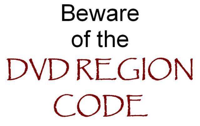 What You Need to Know About DVD Region Codes: Caution: You Have Entered The DVD Region Code Zone