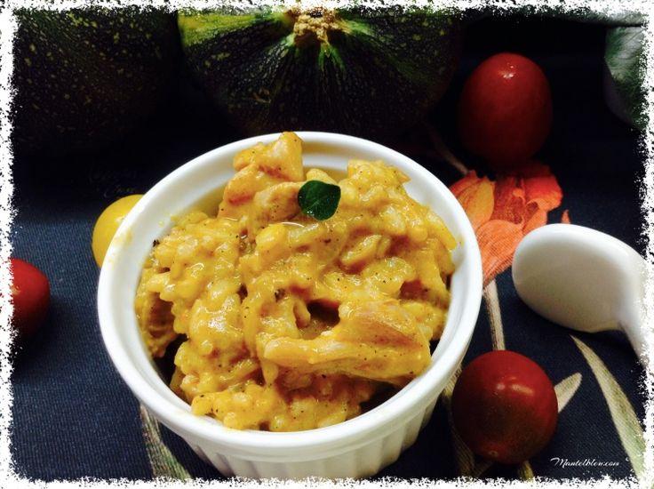 Arroz con salsa de verduras y pollo 1