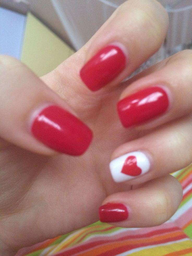 #nails#valentine's#love#heart#art