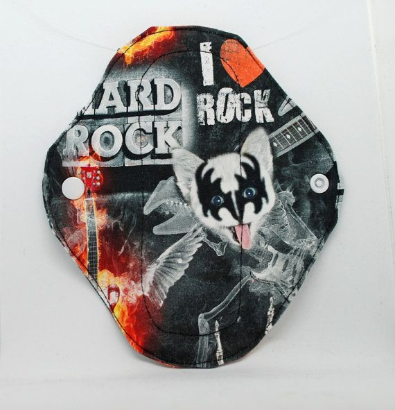 Rock cloth pad pantyliner  cloth pantyliner  cloth by leonorafi
