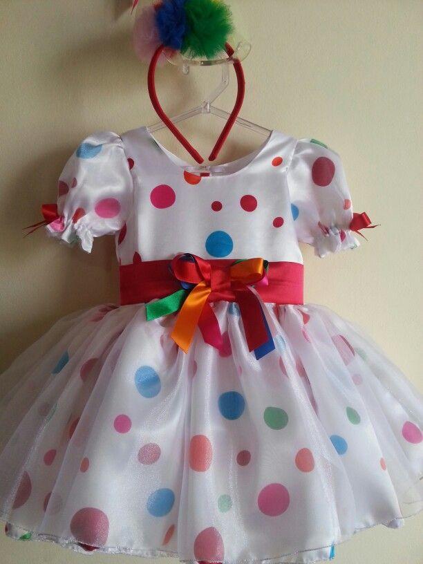Vestido Palhacinha