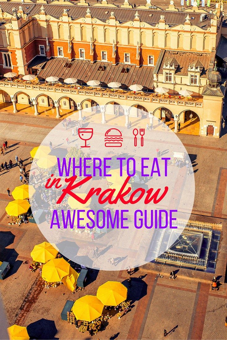 Where To Eat in Krakow. Awesome Guide