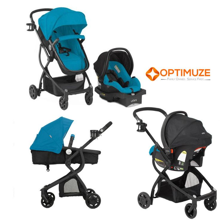 Baby Stroller Car Seat 3in1 Travel System Infant Carriage