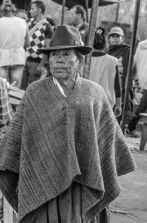 Campesina. Boyacá, Colombia.