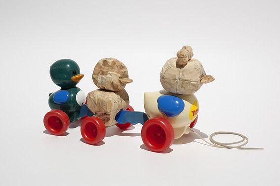 Norton Maza, La Necesidad de Jugar 18, 2002, Isabel Croxatto Galeria