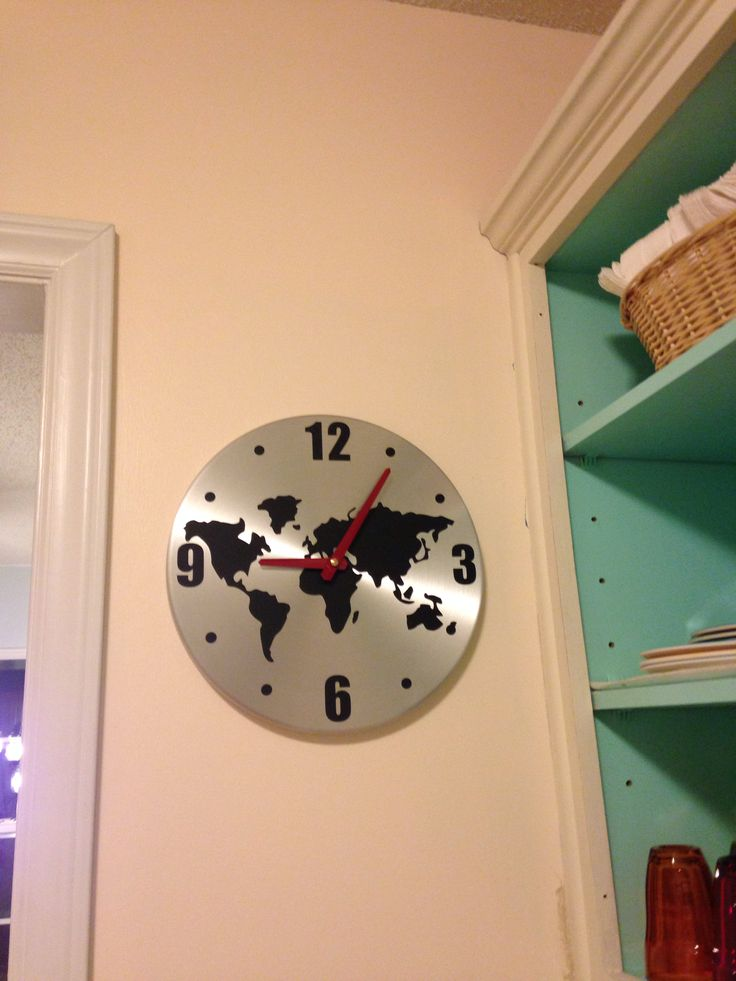 10 best images about clocks on pinterest english travel maps my new ikea clock gumiabroncs Images