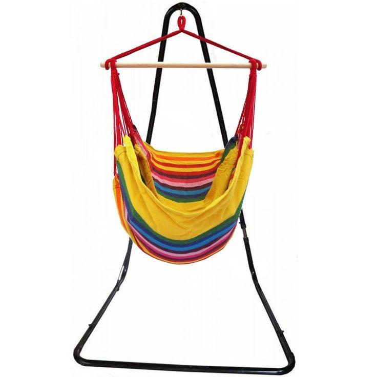 cet ensemble support hamac suspendu Angers est l'équipement idéal pour vos longs moments de relaxations.