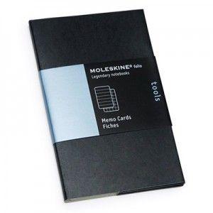 """Карточки для заметок """"Folio"""", MS, Pct, черный (арт. PFCR2A02)"""