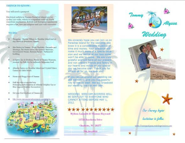 What Do I Include In My Destination Wedding Invitation Packet?