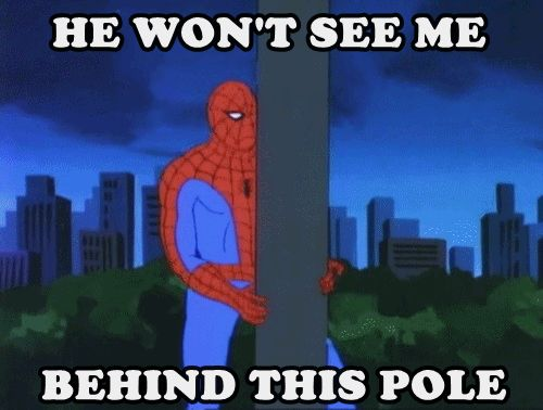 '60s Spider-man meme