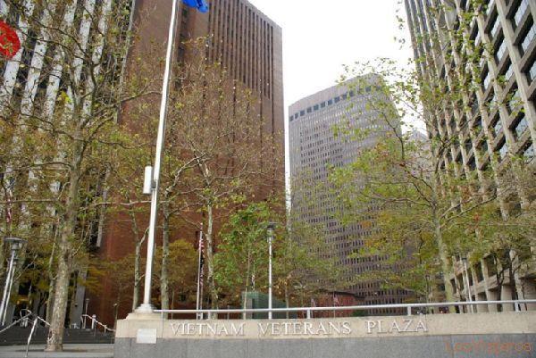 Plaza de los veteranos de Vietnam - Nueva York - USA