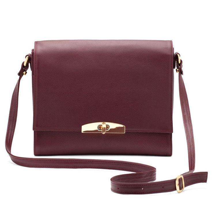 The Shoulder Bag Burgundy · Michael Kors ...