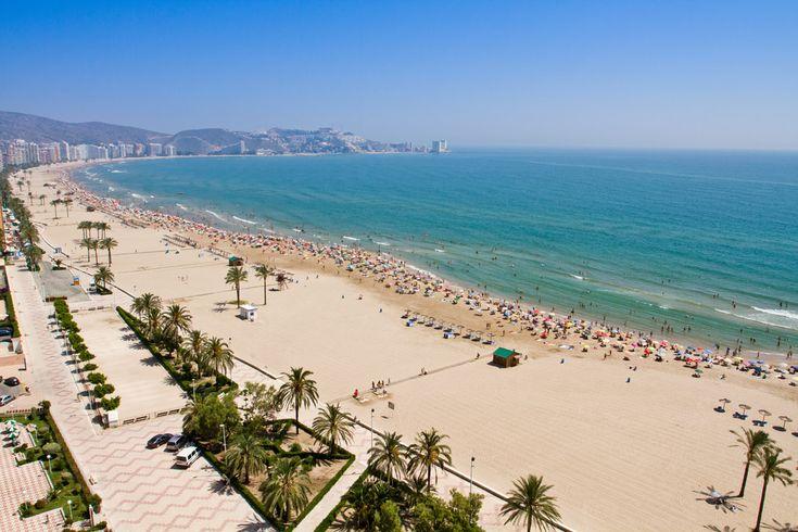 Playa de la Oliva Valencia. España