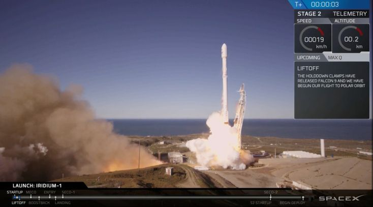 SpaceX has succeeded in launch a Falcon 9 rocket from Vandenberg Air Force Base in California, its first launch since a Falcon 9 rocket exploded on a launch..