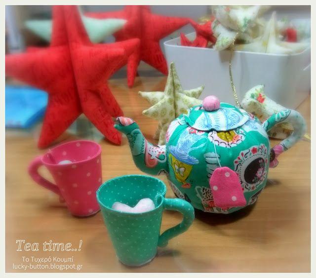 Το τυχερό κουμπί: Ώρα για τσάι ''tea party''