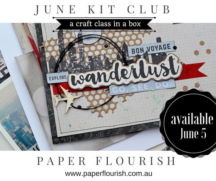 Scrapbooking Kits Paper Flourish Kit Club   http://www.paperflourish.com.au/information