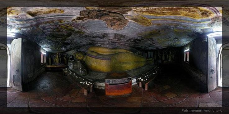 Dambulla, Sri Lanka, click through to Flash icon on bottom for panoramic view