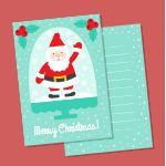 Tutorial para hacer una tarjeta de Navidad. Paso a paso de una postal de Navidad casera, hecha con cartulina. Una manualidad de Navidad divertida y fácil de hacer.