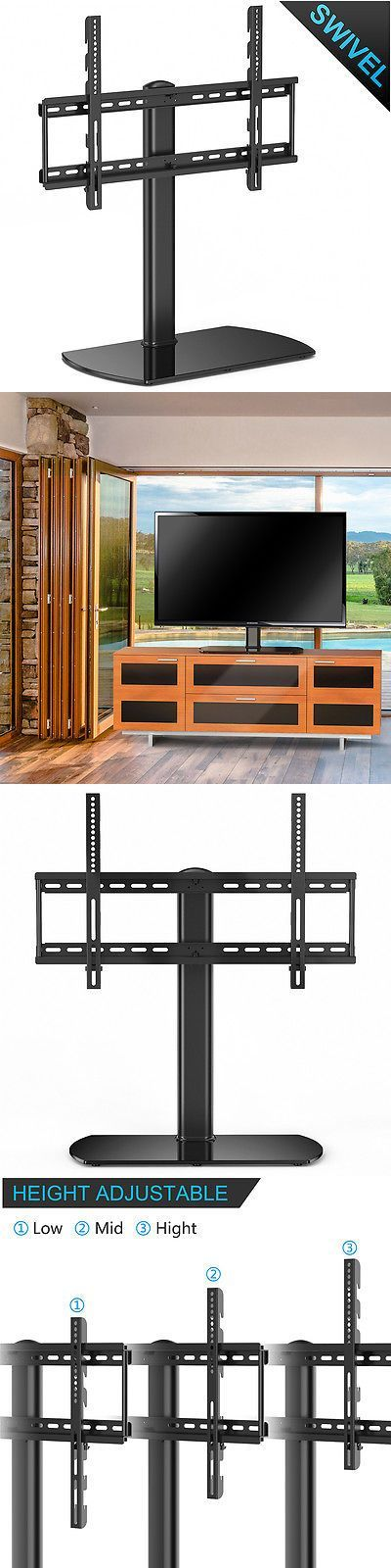 TV Mounts and Brackets: Universal Tv Stand With Swivel Mount Pedestal Base For 32-60 Sony Samsung Tcl -> BUY IT NOW ONLY: $53.94 on eBay!