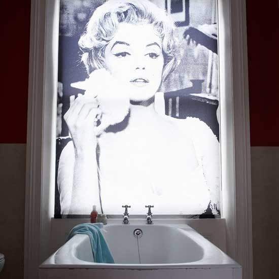 Bespoke bathroom blind