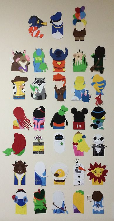 HOLY DISNEY DOOR DECS. One of the CAs in my building made these. You'll see the Peter Pan one says Michelle. It's mine.
