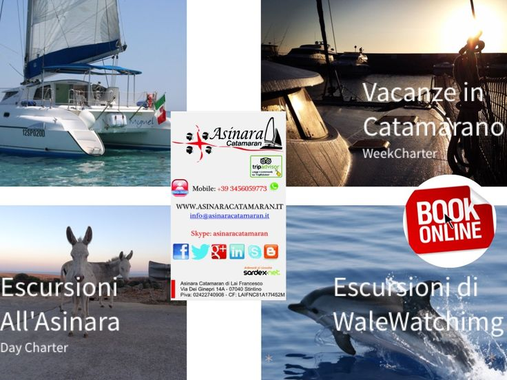 Vai sul nostro sito e clicca su PRENOTA per avere i posti nella giornata che desideri http://www.asinaracatamaran.it/booking-online-vacanza-catamarano-sardegna-vacanza-in-catamarano-sardegna-rent-catamaran-sardinia-noleggio-catamarano-corsica-santa-teresa-maddalena-costa-smeralda/