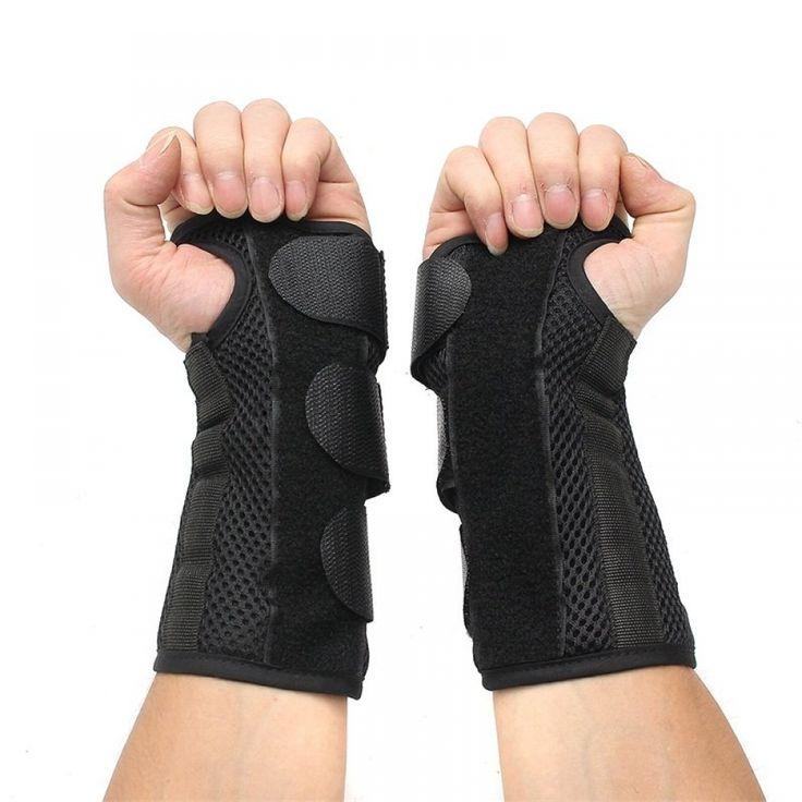 Adjustable Hand Wrist Splint Support Fracture Sprain Brace