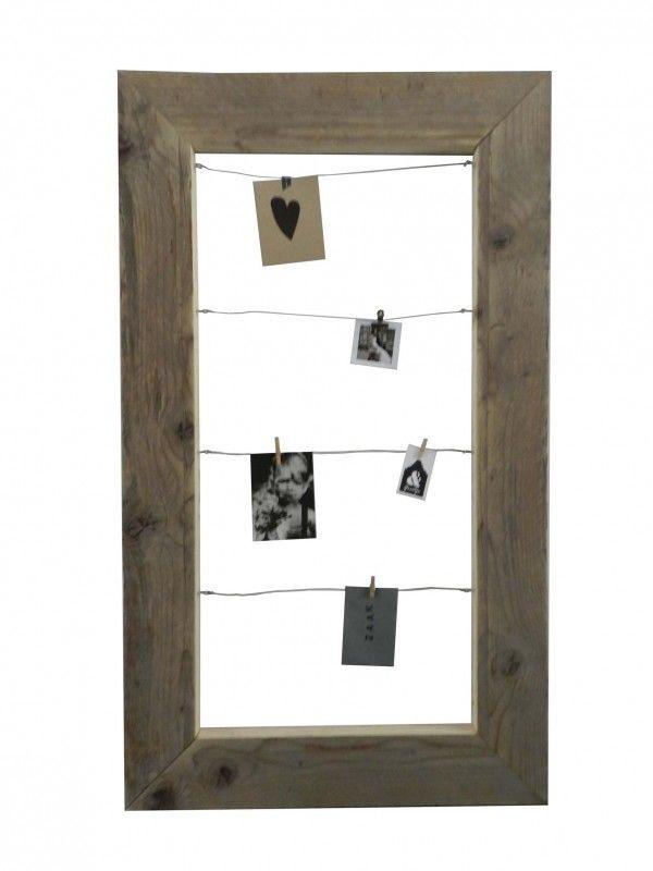 Lijst voor foto`s en kaarten M 120 cm x 70 cm   Accessoires   Huis & Grietje