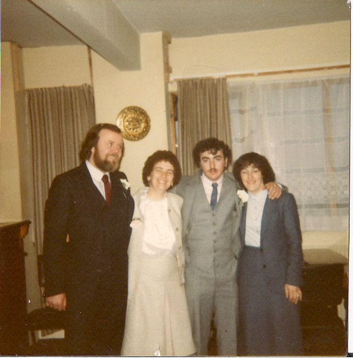 My dad, my mum, my uncle Jimmy & my auntie Bridget