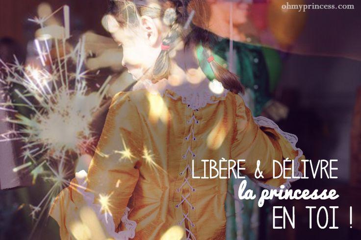 Libère et Délivre la princesse en toi grâce à la révélatrice de princesse Oh My Princess :)