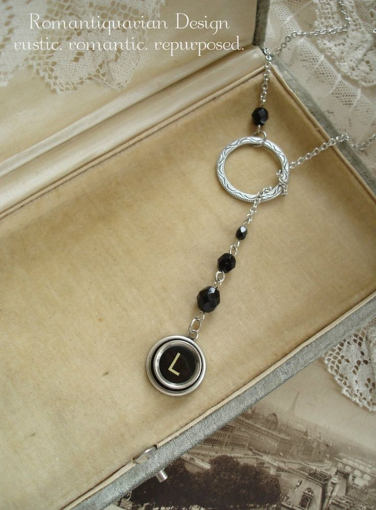 312 Best Images About Typewriter Key Jewelry On Pinterest