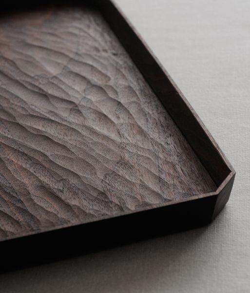 Chiselled tray | Yoshiyuki Kato