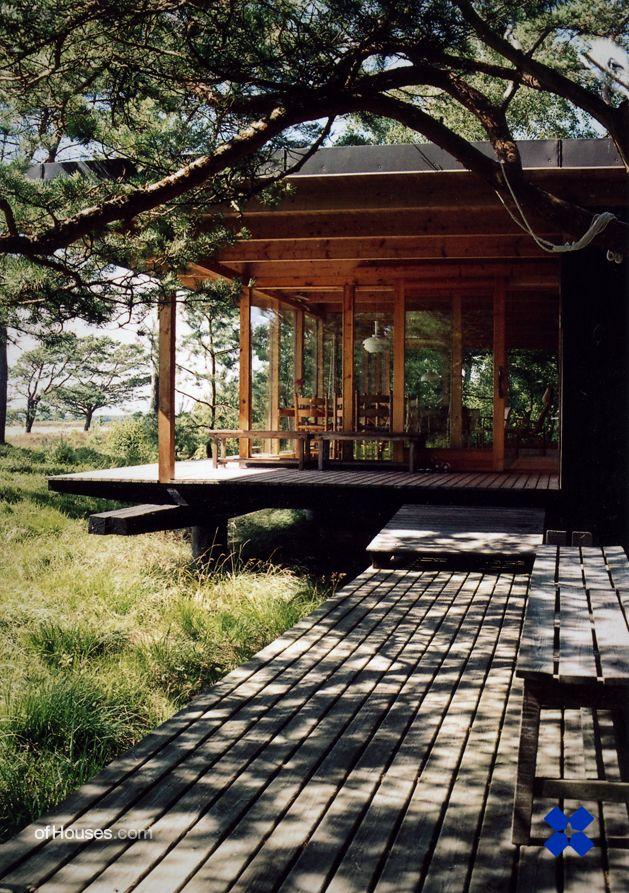 Per Friberg /// Friberg summer house /// Ljunghusen, Sweden /// 1960