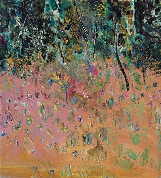 Acacias by Fred Williams art online. Fred Williams; Acacias, 1979 ...