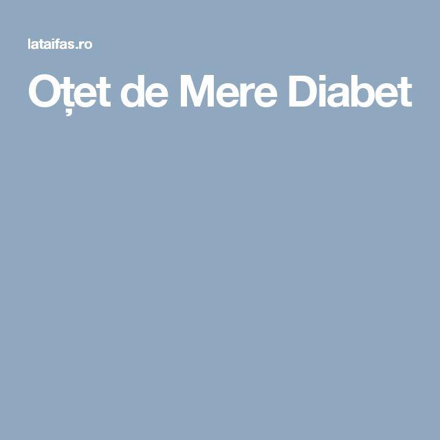 Oțet de Mere Diabet