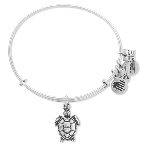 Alex and Ani Sea Turtle Expandable Wire Bangle at The Paper Store