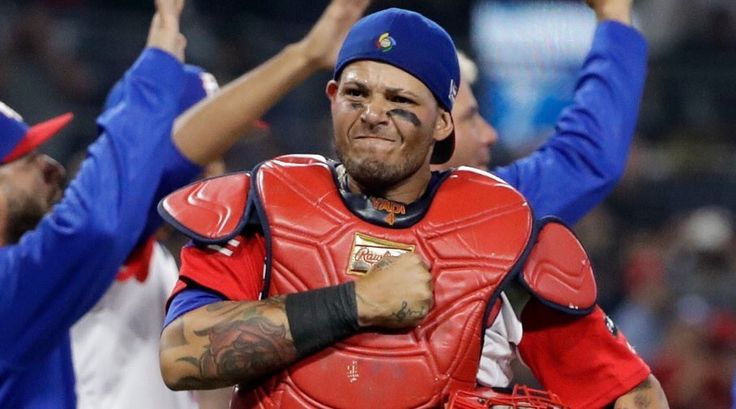 Yadier Molina Catcher  Team Puerto Rico