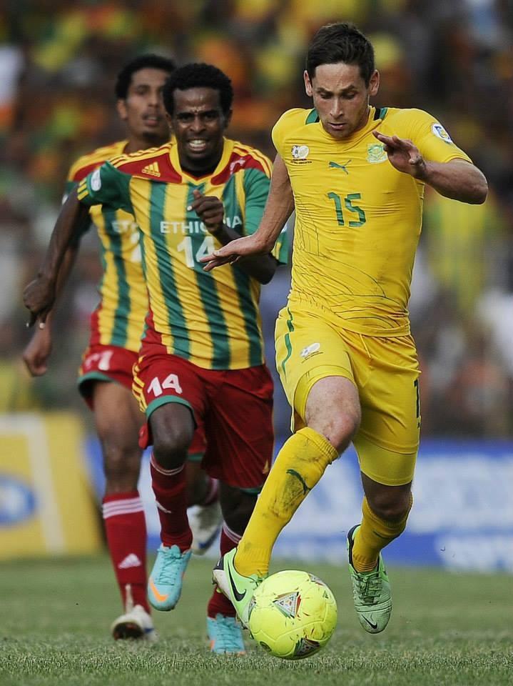 Ethiopia 2 - 1 SA | Photo: Facebook/BafanaBafanaSA