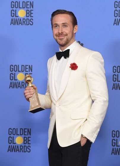 Golden Globes 2017 Dresses – Red Carpet Dresses & Outfits   British Vogue.Congratulations #ryangosling #lalaland