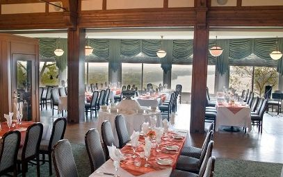 Photo of a reception set up at Queenston Heights Restaurant