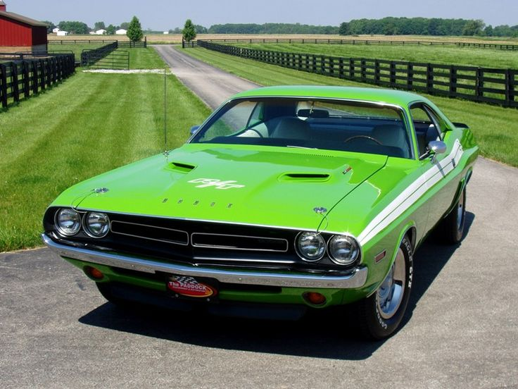 '70 Dodge Challenger - ultimate muscle car