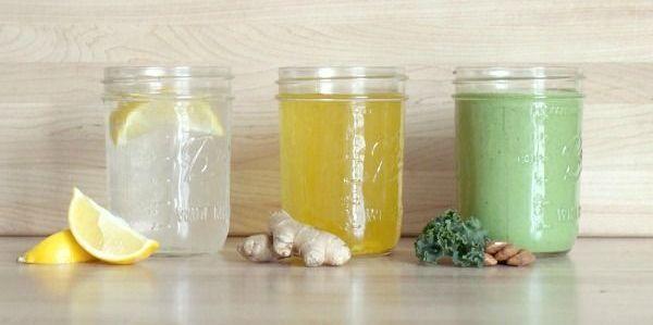 3 натуральных энергетических напитка