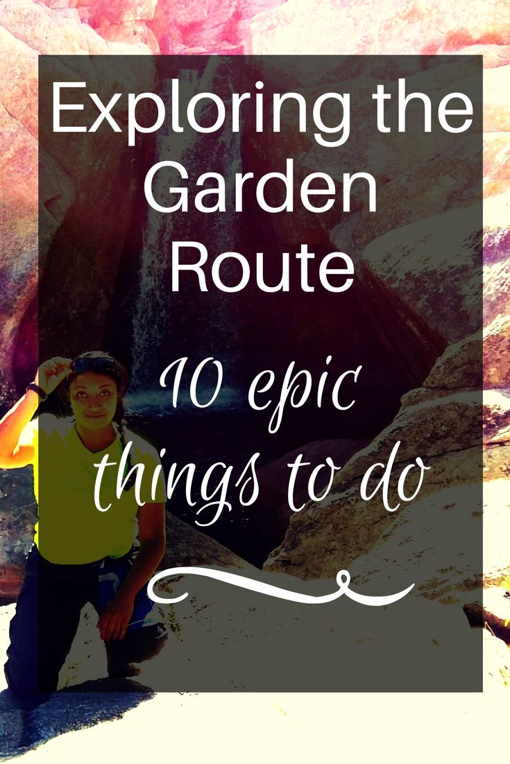 Find out how to travel and explore the Garden Route like an adventure junkie.