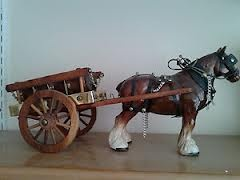 shire horse ornaments - I had this in the 80's. Sold it in a boot sale in the 90's!