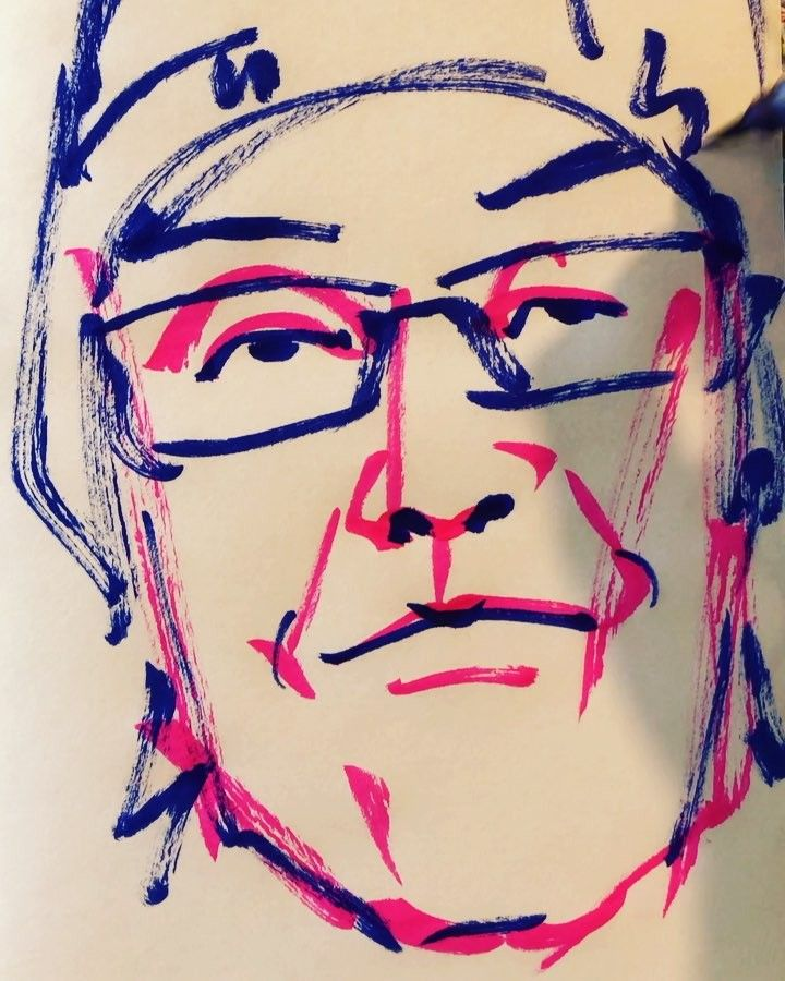 torao fujimotoさんはInstagramを利用しています:「#eguchihisashi #江口寿史 #comicartist #漫画家 #illustrator #イラストレーター #すすめパイレーツ #ストップひばりくん #おたくの星座 #老人Z #19560329 #birthday #誕生日 #1mindraw #一分描画…」