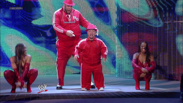 Brodus Clay & Hornswoggle vs. Hunico & Camacho: SmackDown - April 20, 2012