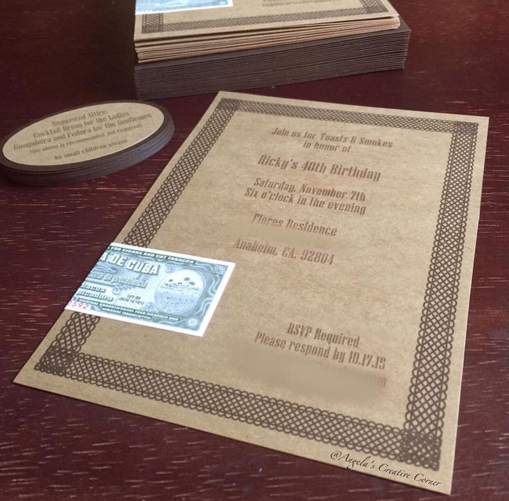 17 best images about invitations on pinterest mirror for Cigar box wedding invitations