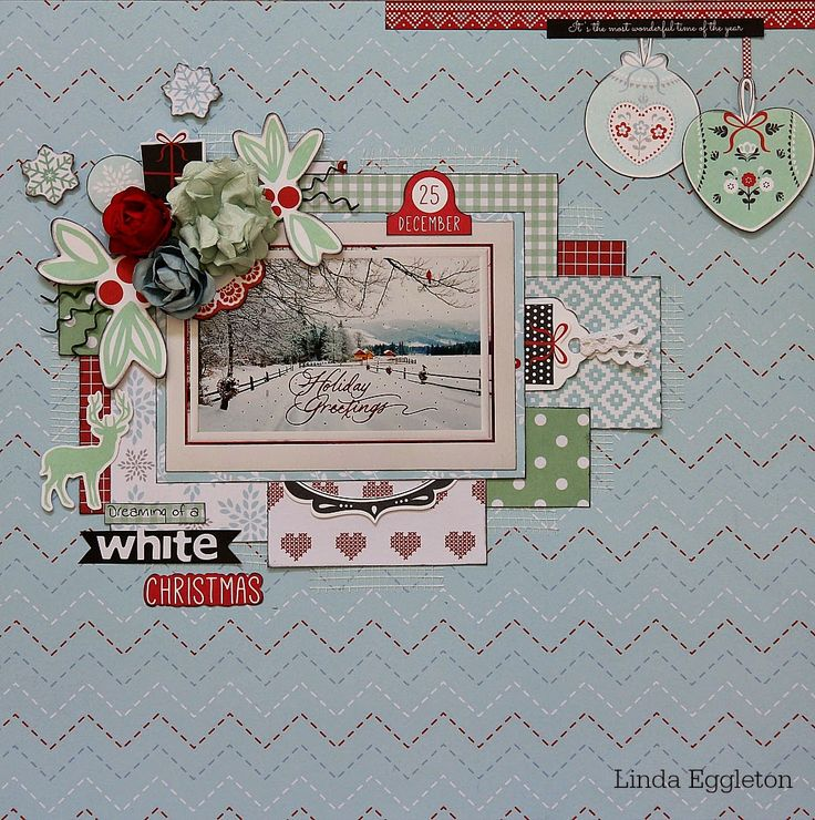 All About Scrapbooks - Kaisercraft, North Pole by Linda Eggleton