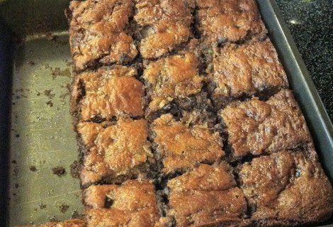 Fast Paleo » Zucchini Brownies – Paleo Recipe Sharing Site. Ingredients 1 cup almond butter 1 1/2 cup grated zucchini 1/3 cup raw honey 1 egg 1 tsp vanilla 1 tsp baking soda i tsp cinnamon 1/…